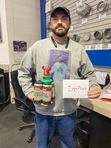 Sweater 2nd Place