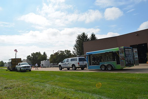 The Greenheck truck & trailer